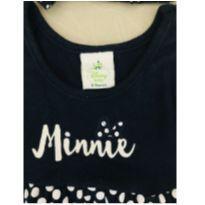 Vestido Minnie com laço para cabecinha - 6 a 9 meses - Disney