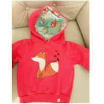 Blusa de moletom raposinha - 6 a 9 meses - Marlan