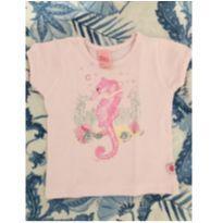 camisetinha cavalo marinho - 6 meses - Livy