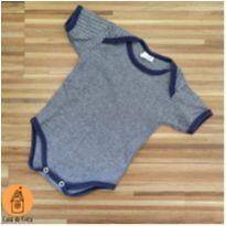 Body curto listradinho - 6 a 9 meses - Sweet Baby