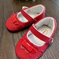 Sapatilha bebê vermelha  - LH4VRPLHN1 - 04 - Pimpolho