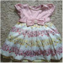 Lindo vestido para bebê. - 3 a 6 meses - Anjos baby