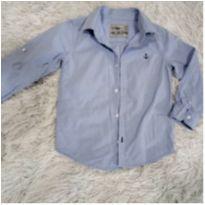 Camisa Azul Marinheiro - 4 anos - Poim