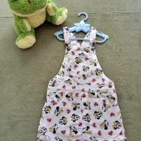 Jardineira Minie - 4 anos - Disney baby