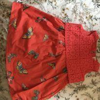 Vestido borboleta - 2 anos - Baby Gap