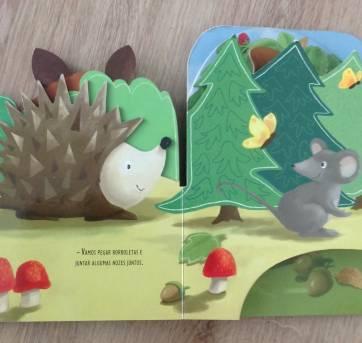 Livro: Dê uma espinha na floresta - Sem faixa etaria - Não informada