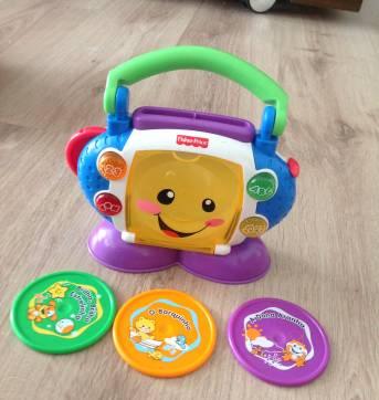 CD player - aprender e brincar - Sem faixa etaria - Fisher Price