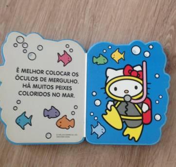 Livros Hello Kitty (2) - Sem faixa etaria - Vale das Letras