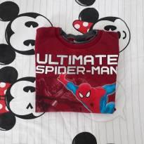Blusa Moletom Spider Man (item 033) - 4 anos - Brandili