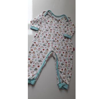 Macacão Ursinhos (item 097) - 3 a 6 meses - Up Baby