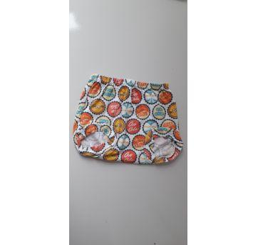 Conjunto verão macaquinho (item 094) - 3 meses - Ovo