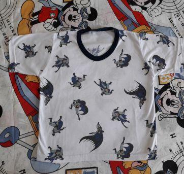 Pijama Curto Batman (item 124) - 4 anos - Tikinhos