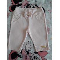 Calça Legging Rosa Claro (item 144) - 3 meses - Sonho Mágico
