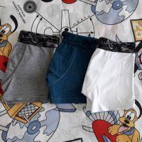 Kit 03 cuecas boxer (item 123) - 4 anos - Lupo