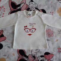 "Blusa manga longa ""This is aunt"" (item 143) - 0 a 3 meses - Zara Baby"