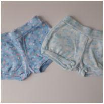 Kit 02 Shorts Flamingos (item 166) - 3 a 6 meses - Kiko baby