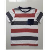 Camiseta listrada (item 167) - 6 anos - authentic kids