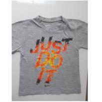 "Camiseta ""Just do it"" (item 171) - 4 anos - Nike"