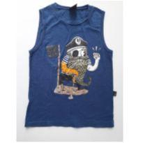 """Regata """"pirata"""" (item 168) - 6 anos - Hering Kids"""