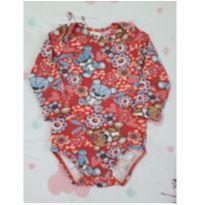 Body Ursinhos (item 193) - 6 a 9 meses - Zig Zig Zaa