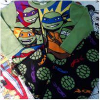 Pijama em Fleece Tartarugas Ninjas (item 209) - 6 anos - nickelodeon