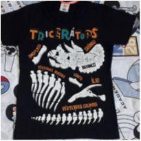 Camiseta Triceratóps (item 216) - 4 anos - Zig Zig Zaa