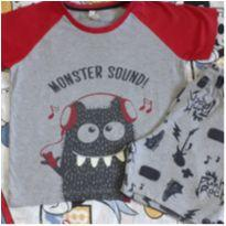 Pijama Monster Sound! (item 220) - 4 anos - Renner