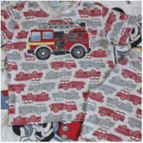 Pijama Bombeiros (item 221) - 4 anos - Kyly