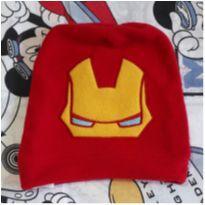 Touca + Manta Iron Man (item 251) - 4 anos - MARVEL