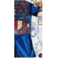 Fantasia Capitão América (item 243) - 6 anos - Não informada