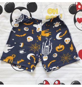 """Pijama """"Halloween"""" (item 299) - 4 anos - PUC"""