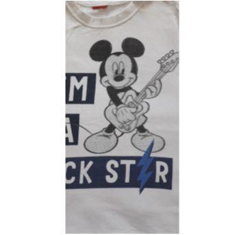 Manga curta Mickey (item 291) - 4 anos - Cativa