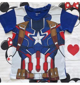 Pijama Capitão América  (item 300) - 5 anos - Importada