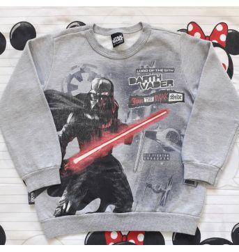 Blusa Moletom Star Wars (item 305) - 6 anos - Malwee