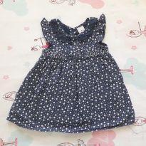 Vestido Poá (item 312) - 9 meses - Tip Top