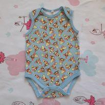 Body Tigrão (item 317) - 9 a 12 meses - Baby Club