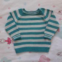 Suéter Listrado (item 319) - 6 a 9 meses - Zara Baby