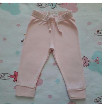 Calça Rosa (item 308) - 6 a 9 meses - Baby Club