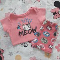Conjunto Meow (item 401) - 9 a 12 meses - Up Baby