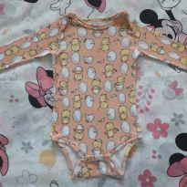 Body pintinho (item 394) - 9 a 12 meses - Up Baby