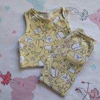 Conjunto Love Milk (item 417) - 9 a 12 meses - Up Baby