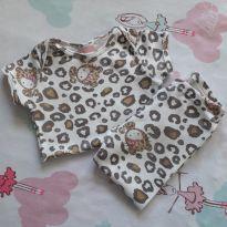 Conjunto Tigrinha Hello Kitty (item 414) - 9 a 12 meses - Hello Kitty by Sanrio