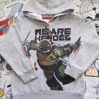Casaco Tartarugas Ninjas (item 451) - 6 anos - Fakini