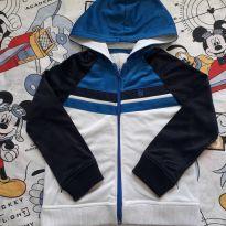 Casaco branco/azul (item 450) - 6 anos - Milon