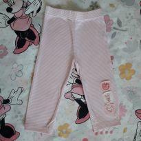 Legging coelhinha (item 265) - 9 a 12 meses - Baby Club