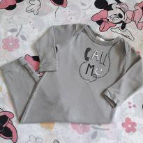 Macacão call me (item 261) - 9 a 12 meses - Up Baby