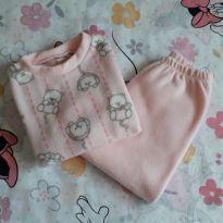 Pijama soft ursinhos (item 266) - 9 a 12 meses - Artesanal