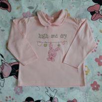 Blusa coelhinhas (item 273) - 9 a 12 meses - Baby Club