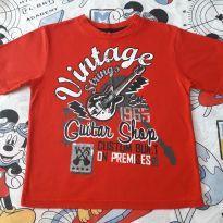 Camiseta vintage rock (item 499) - 6 anos - kidzone
