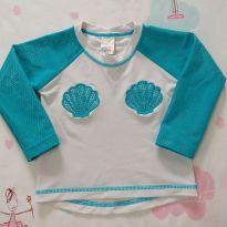 Blusa com proteção UV sereia (item 524) - 1 ano - Tip Top